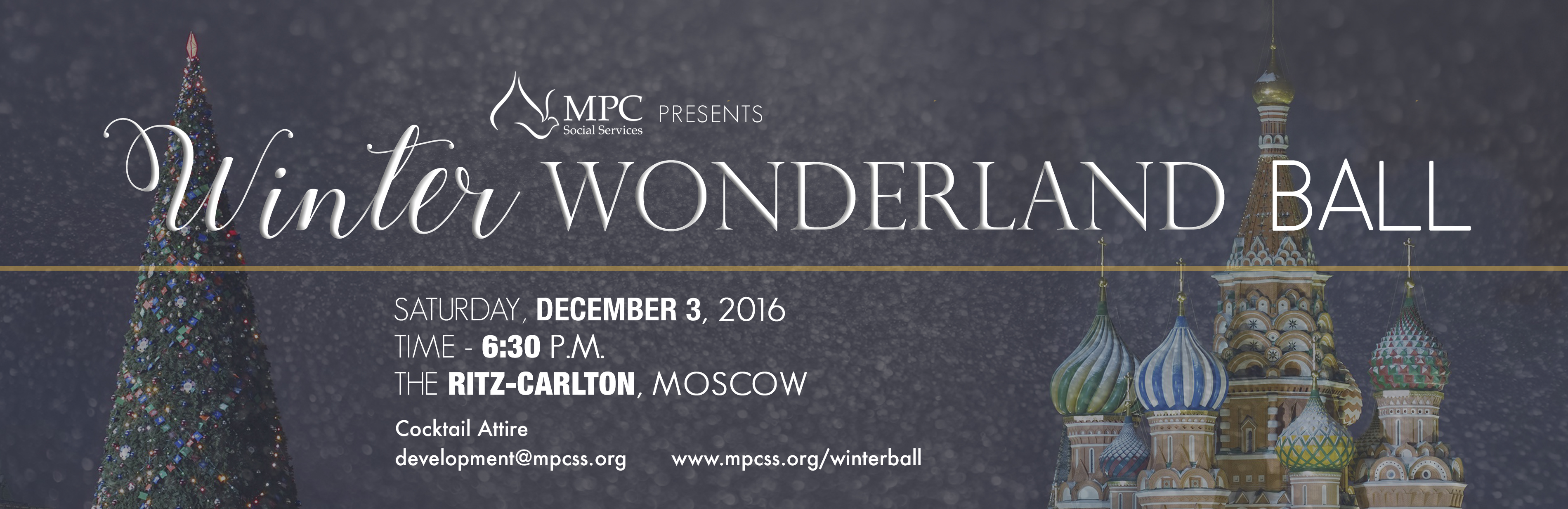 MPC Winter Wonderland Ball, December 3