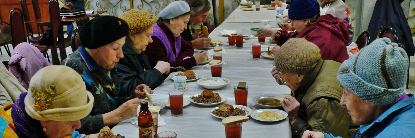 Pensioners' Food and Fellowship Program